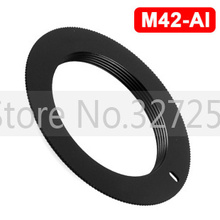 10PCS M42 Lens TO NIKON AI Adapter D3000 D5000 D90 D700 D300S D60 D3X Metal