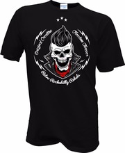New Famous Brand Men Harajuku Funny Rick Tee Shirts Skull 50er 50's Biker Hot Rod Totenkopf Tattoo t shirt design website