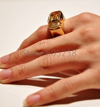 EMS Free Shipping Wholesale 100Pieces Unisex Punk Gothic Lighter Ring Wedding Decor Ring