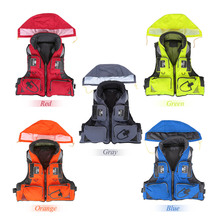 Lixada Professional Fly Fishing Vest Polyester Jacket Survival Vest Outdoor Sports Fishing Vest Backpack Fish Accessory 5 Color(China)
