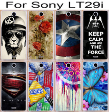 22 pictures new arrival custom phone case For sony Ericsson Xperia TX lt29i Cases Shell