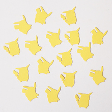 Pikachu confetti,party decorations, video game party decor, party ideas for boys, party for girls, nerd gift wrapping,