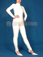 Buy (jxy101012)Original Solid Color PVC Smooth Wet-look Tights Unisex Bodysuit Fetish Zentai Catsuit Fancy Dress Suits