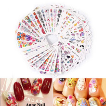 ISHOWTIENDA 45PCS nail tools ferramentas Women Nail Art Nial Sticker Halloween Designs Girl Beauty Nail Tools(China)