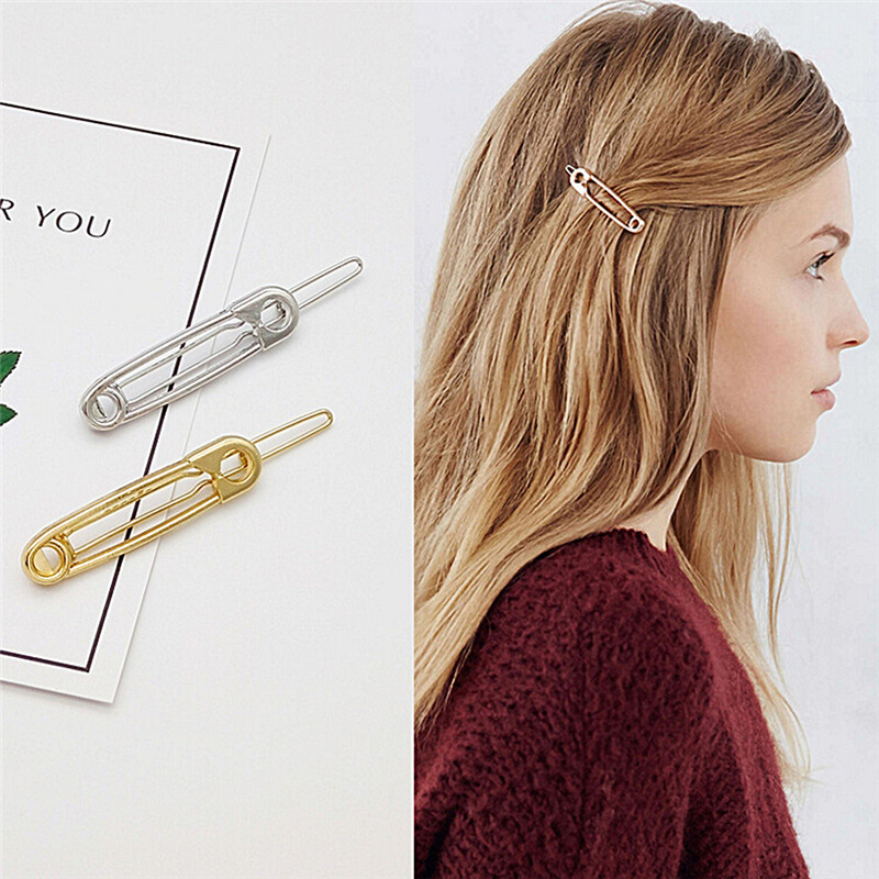 1Pc Metal Fashion Simple Jewelry Exquisite Playful Modeling Hairpin Hair Accessories
