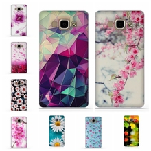 Luxury Phone Cover For Samsung Galaxy A5 2015 Cases 3D Relief Painting Soft Silicon Back Cover Case for Samsung A5 A500 A5000