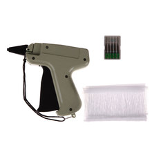 "Garment Price Label Tagging Clothes Tag Gun 3""1000 Barbs + 5 Needles Set Tool Pistola Etiquetadora Precio(China)"