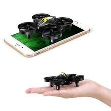 GouGouShou Newest Mini Quadcopters RC Drone Headless Mode One Key Return RC Helicopter VS JJRC H36 Kids Best Toy For Boy CX-95(China)