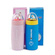Kitty Termo Cup My Bottle 300 Ml 350ml Lady Stainless Steel Thermos Flasks Child Mug Lovely Portable Creative Micro Landscape