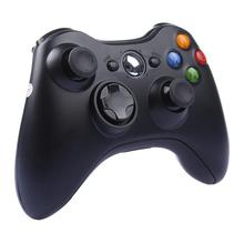Free shipping 1pcs Black White Wireless Controller Bluetooth Joystick Gamepad with USB PC Receiver For XBOX 360 Games and PC