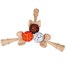 Kid Funny Kendama Skill Ball Japanese Traditional Sword Ball Wood Game Ball Educational Toy Gifts S24