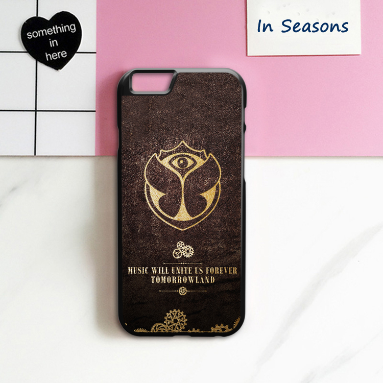 Tomorrowland Compact Cover Case for iPhone 4 4S 5 5S 5C SE 6 6S 7 8 Plus X
