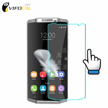 oukitel K10000 Tempered Glass 9H High Quality Screen Protector Film For oukitel K10000 Cell Phone + Free shipping