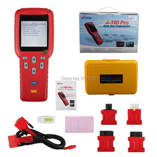 Update Online Original X-100 Pro Auto Key Programmer X-100+ Updated Version Key Maker Immobilizer Programming Reset ECM(China)