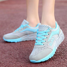 Buy Platform Sneakers Summer Running shoes Women Trainers Air Mesh Breathable Sport shoes Outdoor Walking Jogging Sneakers for $18.47 in AliExpress store