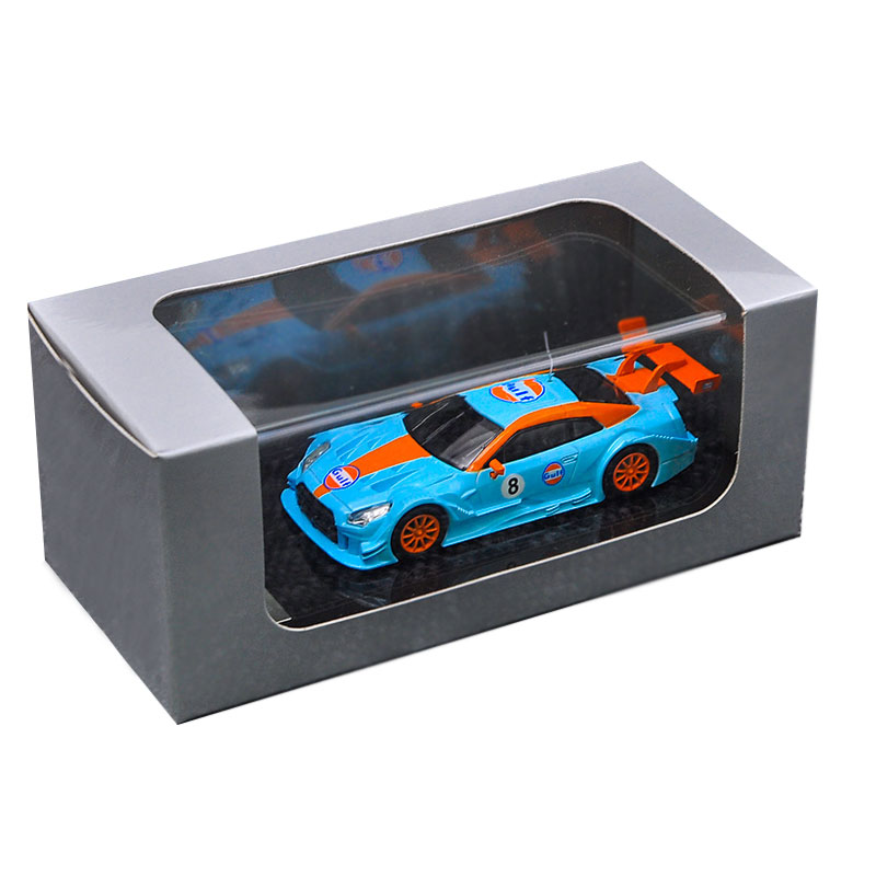 1:64 Scale Lexus RCF SUPER GT500 Gulf Diecast Model Car Collection New In Box