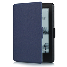 New Smart Wake PU Leather Case For 6Inch New Kindle 2016 8th Generation e-Book,Ultra Slim Cover For 2016 New Kindle 8th e-Reader