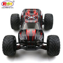 2017 Hot Sales 9115 1/12 2.4GHz 2WD Brushed RC Remote Control Monster Truck RTR Shock Resistant Bigfoot Car Off-Road Vehicle(China)