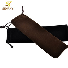 SENRHY 19x6cm Fleece Bag For 24 Holes Harmonica Storage Protective Bag With Cord Harmonica Bag Musical Instruments Accessories