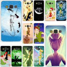 Peter Pan Wendy Tinkerbell Tinker bell Hard for Samsung Galaxy A3 A5 J3 J5 J7 2015 2016 2017 & Grand Prime Note 5 4 3 2 Case