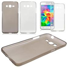 Clear 0.3mm Soft Silicone Samrt Phone Case for Samsung Galaxy Grand Prime G5308 Skin Shell Protector