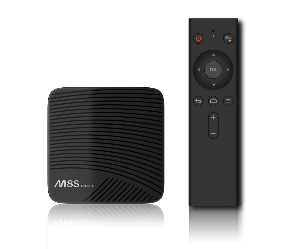 M8S PRO L VOICE CONTROL TV BOX 8