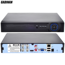 GADINAN Mini Home CCTV AHD 4CH AHD-NH 1080N DVR 4 Channel Standalone CCTV DVR HDMI Output P2P Cloud Mobile Phone View ONVIF 960H