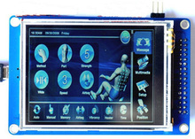 NoEnName_Null 2.8 inch 37PIN TFT LCD Module with Touch Panel ILI9320 Drive IC 16Bit Interface ucGUI ucos Code(China)