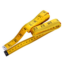 1PCS Hot Portable Mini Yellow Tailor Seamstress Measuring Ruler Tape Sewing Tools EN3858