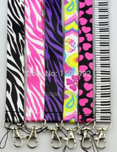 Lot 50Pcs Zebra Love Neck Straps Lanyards For Mobile Phone,Card,Key chain