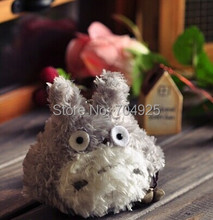 [Size Small 8CM] Keychain DOLL TOY ; Kawaii MY Neighbor TOTORO Plush Stuffed TOY DOLL ; BAG Pendant TOY Wedding Bouquet TOY DOLL(China)