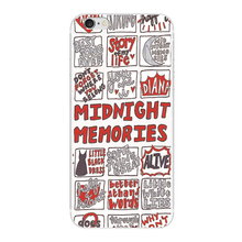 1D ONE DIRECTION MIDNIGHT MEMORIES case For Samsung s7 s6 edge s5 s4 s3 Plastic cover for iphone 5 5S SE 5C 4S 6 6S 7 Plus(China)