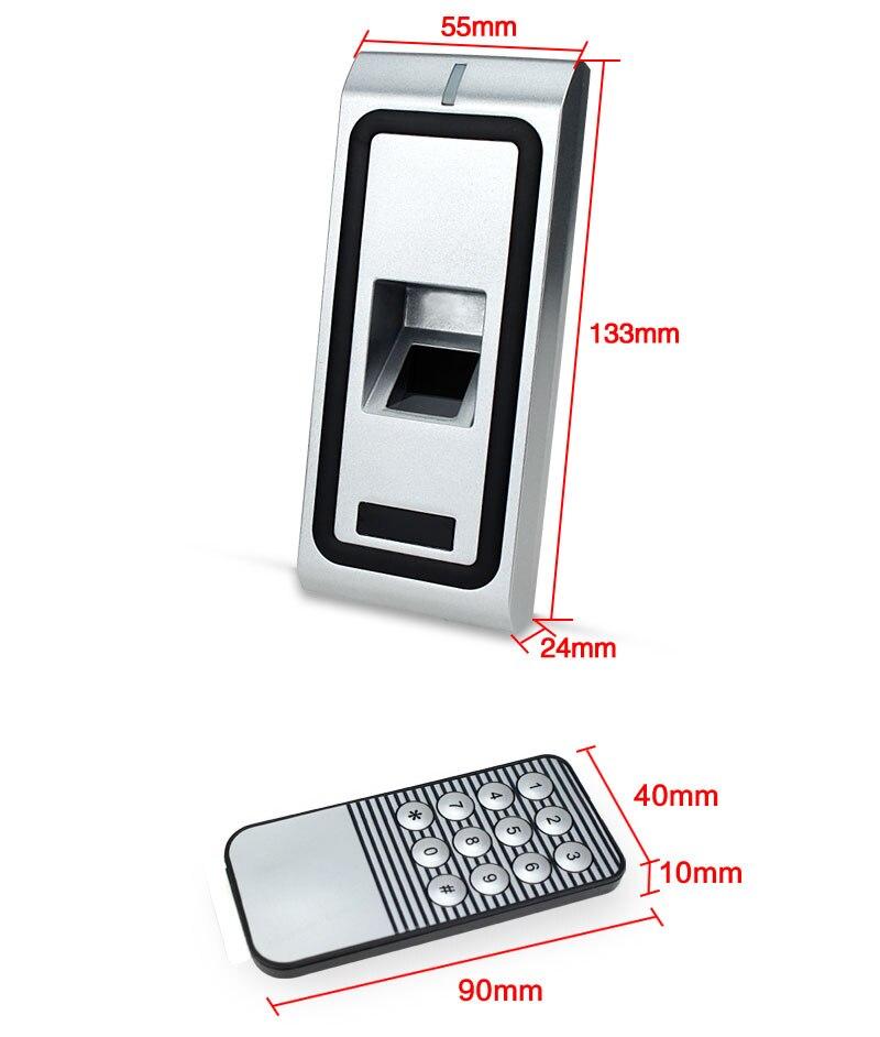 F2 Metal fingerprint standalone access controller (5)