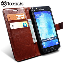 Case For Samsung Galaxy J5 2015 J500 Wallet Style PU Leather Coque Phone Bag With Stand Flip Cover Cases For Samsung J5