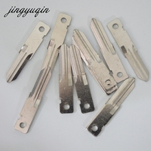 jingyuqin VAC102 Remote Uncut key Blade For Renault Key Blank 20pcs/Lot Free shipping(China)