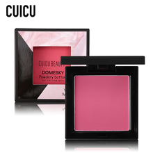 CUICU Brand Face Blush Palette Makeup Bronzer Blusher Mineralize Sleek Powder Long Lasting Cheek Contour Cosmetics for Pale Face