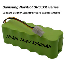 14.4V 3500mAh SC NI-MH Battery Pack For Samsung NaviBot SR88XX Series Vacuum Cleaner SR8840 SR8845 SR8855 SR8895 VCA-RBT20