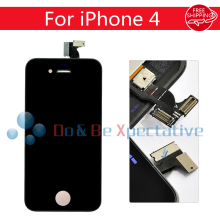 Free Shipping LCD Display +Touch Screen Digitizer Aassembly For iPhone 4 Black/white