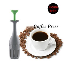 1 Piece Healthy Flavor Coffee Tea Press Steps Single Server French Bar Tools Kitchen Gadget K176