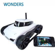 777-287 4CH Wifi Tank Cool Kid Gift RC Toy i-spy Tank With Camera Wifi App-Controlled for iPhone iPad(China)