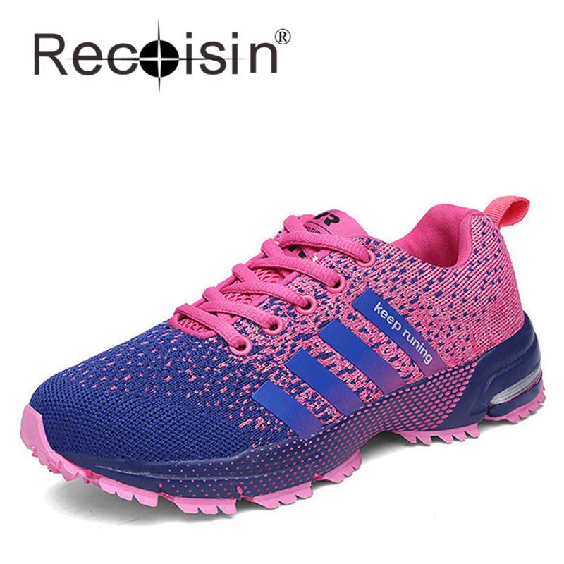 RECOISIN Fly Weave Casual Shoes Summer Women Outdoor Shoes Trainers Shoes Campus Lover Walking Shoes Zapatillas Deportivas 8702F<br><br>Aliexpress