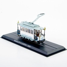 1/87 Tram Truck Toys Motrice N 13 (CGFT)-1907 Diecast Tram Model 1:87 Mini Model Train Vehicles Collection Toys D