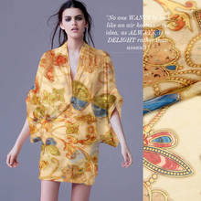new arrive for summer dresses free shipping 100% silk chiffon fabric butterfly pattern skill chiffon fabric for scarf SF-BP15