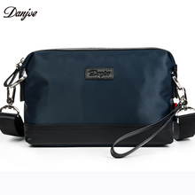 DANJUE Crossbody Bag Male High Quality Oxford Men Clutch Bags England Style Men Leisure Handbags Two Color Waterproof Men Bag