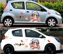 DIY Cartoon UNIVERSAL High Quality PVC Paper Funny Decal Belle Car Sticker Vinyl Decals Waterproof Accessories