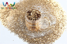 1mm 040 Light Copper  Sprinkling  Color Glitter Plain Colors Spangles  for Art and Nail decoration DIY  sequins