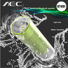 New AEC BT201 2 in 1 Wireless Bluetooth Speaker Loudspeaker with Mic Support Hands-free Calls Altavoz With Flashlight Function