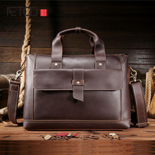 AETOO Bole guest Crazy Horse male Baotou cowhide Shoulder Messenger Bag Leather Laptop provided wholesale(China)