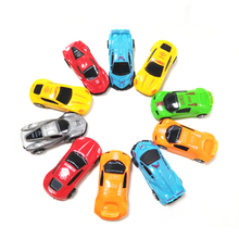 1pc Children Cute Mini Cars Classic Pull Back Toys Colorful Sports Car Model Birthday Gifts for Kids Baby