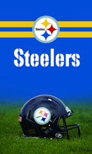 3FTX5FT Pittsburgh Steelers flag Football helmet flag 100D polyester digital printed with 2 gromments(China)